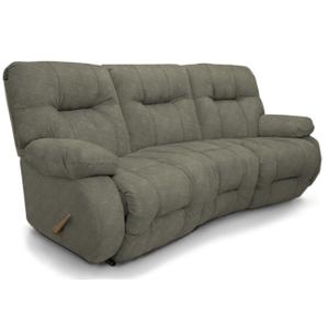 Best Home Furnishings - BRINLEY SPACESAVER Reclining Sofa in Flint     (u700ra4-20147)