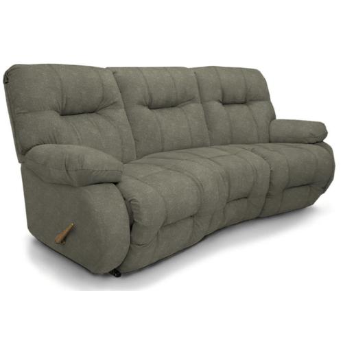 BRINLEY SPACESAVER Reclining Sofa in Flint     (u700ra4-20147)