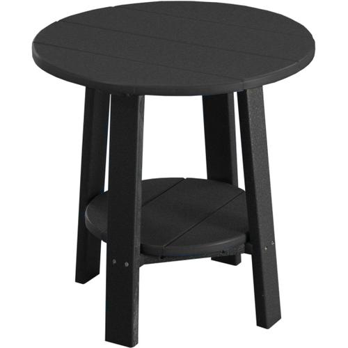 Deluxe End Table Black
