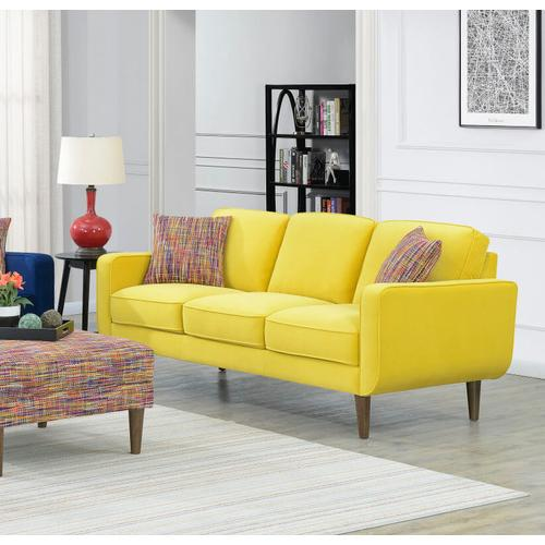 Emerald Home Furnishings - Midcentury Modern Sofa