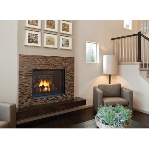 Bellavista B41XTCE Large Clean Face Direct Vent Gas Fireplace