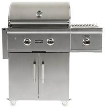 Coyote C1CSBLP C-Series Single Side Burner for Grill Cart, Liquid Propane