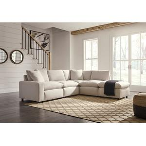 Savesto X Sectional Ivory