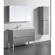 """Product Image - SOHO 48"""" SINGLE VANITY ONLY - ASH GREY"""