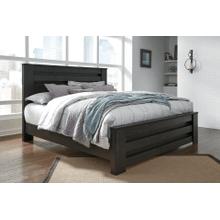 Brinxton- Black- King Panel Bed