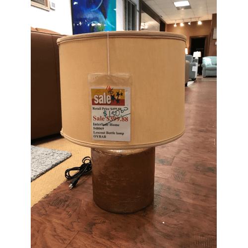 Interlude - Lescout Bottle Lamp