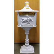 Victorian Mailbox White