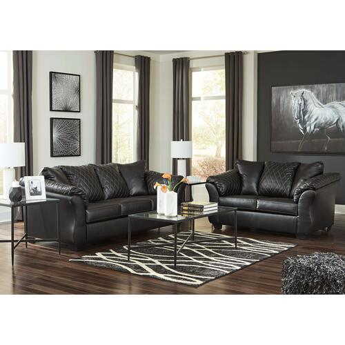 Betrillo Black Sofa & Loveseat
