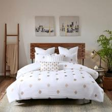 Stella Dot 3 Piece Cotton Percale Comforter Mini Set