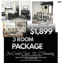 3 Room Furniture Package