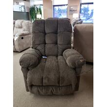 BROSMER Swivel Glider Recliner with Heat and Massage