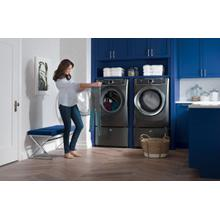 Electrolux Titanium Laundry Pair with Perfect Steam and 2 pedestals