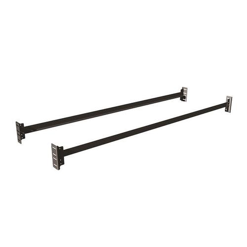 Mantua - 675SL Retail Bolt-On Bed Rails for Twin & Full Headboards and Footboards