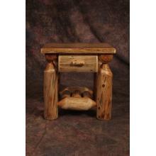 See Details - 1 Drawer Cedar Nightstand