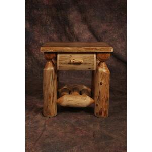 1 Drawer Cedar Nightstand