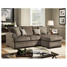 See Details - Cornell Sofa w/ Chaise- Pewter