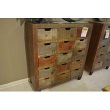 IFD 15 drawer storage console