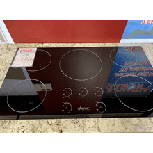 "Renaissance 36"" Induction Cooktop, in Black Glass"