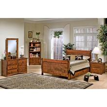 See Details - Sedona Sleigh Bed