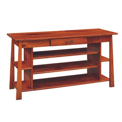 Country Value Woodworks - Craftsmen Entertainment Table