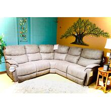 See Details - Trouper 3PC Sectional in Mink        (724N-E153767)