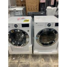 4.5 cu. ft. Ultra Large Smart wi-fi Enabled Front Load Washer & 7.4 cu. ft. Electric Dryer **OPEN BOX SET** West Des Moines Location