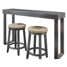 CLAREMONT DINING CONSOLE TABLE GREY