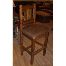 Stony Brooke Bar Stool With Leather Seat