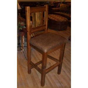 Stony Brooke Bar Stool With Leather Seat