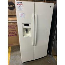 GE® ENERGY STAR® 25.3 Cu. Ft. Side-By-Side Refrigerator**OPEN BOX ITEM** Ankeny Location