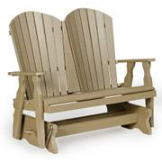 Leisure Lawns Collection - #340 Fanback Glider Product Image