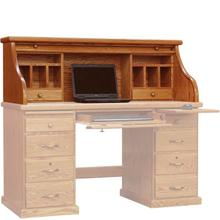"""See Details - Classic 54"""" Roll Top with Split Cubby"""