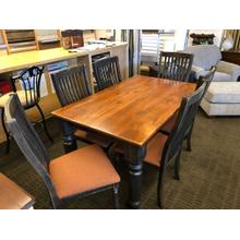 """See Details - Champlain collection 36""""x60"""" with 2 20"""" leaves and 6 chairs"""