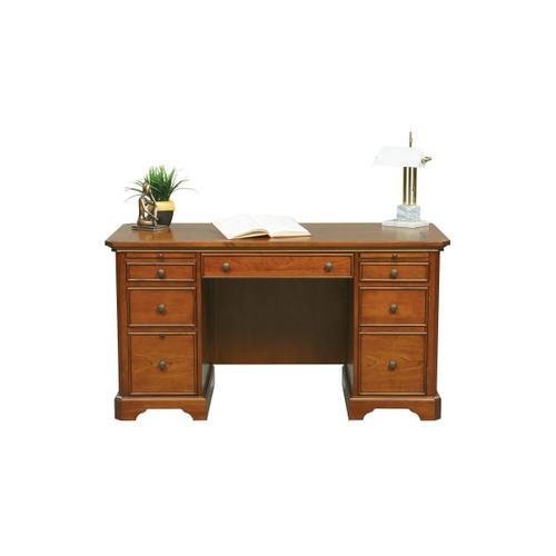 """57"""" Desk - Cherry"""