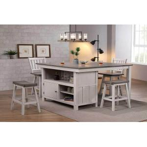 Gallery - Pub Island and Backless Barstools