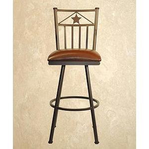 Callee Furniture - Lonestar - Armless Swivel Barstool