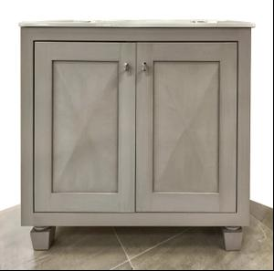 """Palazzo 36"""" Vanity in Gray Product Image"""