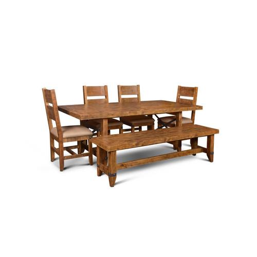 "Urban Rustic 84"" Dining Table"