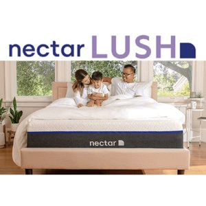 Resident Home Nectar Lush Premium Gel Infused Memory Foam Mattress With Advanced Cooling
