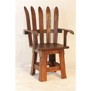 Ski Arm Chair and Rocker