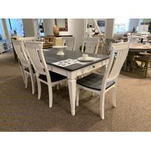 Allyson Park Dining Table with Drawers and 6 Chairs