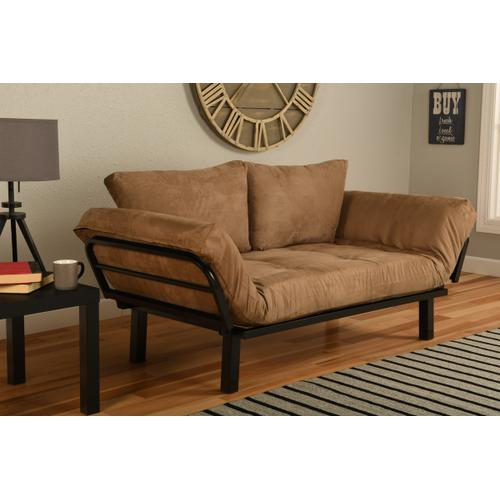 Mattress Discount Southgate - Black Spacely Lounger Suede Peat