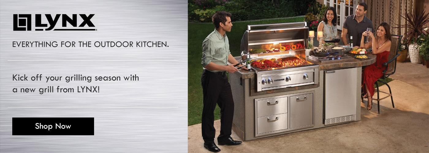 Lynx Grills - Everything for the outdoor kitchen.