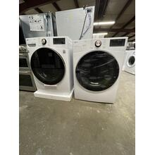 ***ANKENY LOCATION*** 4.5 cu. ft. Ultra Large Capacity Smart wi-fi Enabled Front Load Washer with TurboWash™ 360° and Built-In Intelligence & 7.4 cu. ft. Ultra Large Capacity Electric Dryer **SCRATCH OR DENT ITEMS 1 YEAR WARRANTY***