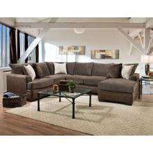 See Details - 6800 - Akan Mocha Sectional