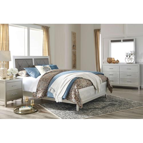 Olivet - Silver 6 Piece Bedroom Set