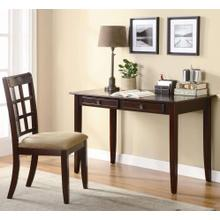 Desk with Two Drawers & Desk Chair