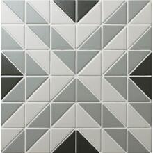 Chino Hill Square 2 Triangle Geometric Tiles Art