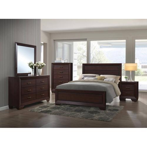 Fenbrook 4PC Eastern King Bed Set