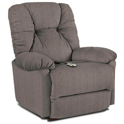 ROMULUS Medium  Power Recliner - Stone 20079